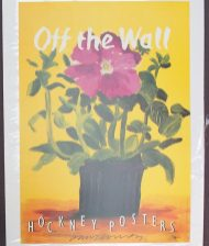 After David Hockney (Born 1937) Off the Wall Hockney Posters Signed 58.5 x 41cm. Sold for £60 at Anthemion Auctions