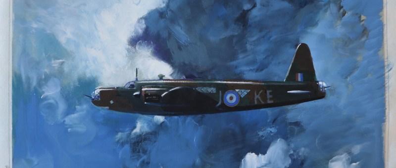 Leslie Carr warplane