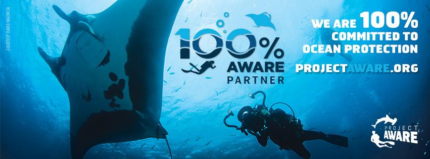 100% AWARE Banner