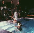 Laura Leighton/Sydney Andrews in the infamous Melrose pool