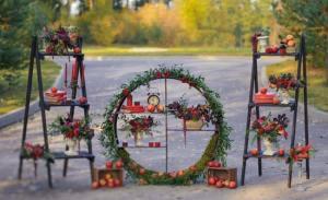 Στολισμός για γάμο τον χειμώνα