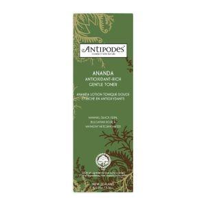 Lotion antioxydante Ananda Antipodes boite