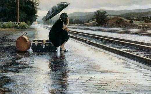 sola-bajo-la-lluvia