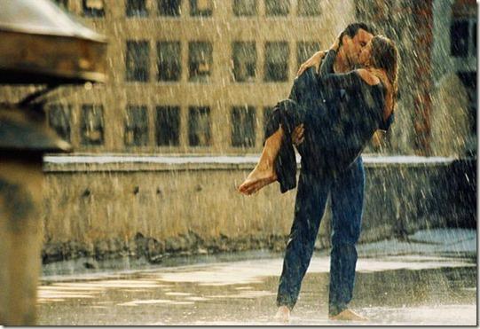 kissing-rain