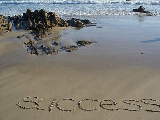 success-on-sands-of-time