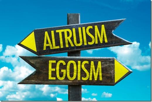 altruism-egoism