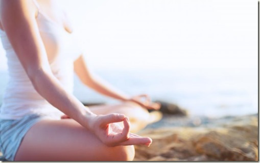 meditating-beach