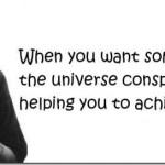 Κι αν το σύμπαν τελικά δεν συνωμοτεί;