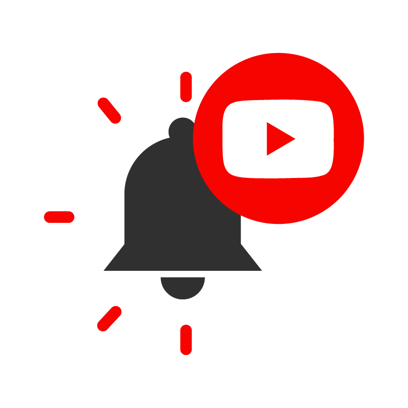 YouTube Subscribe button png vector + Notification Bell