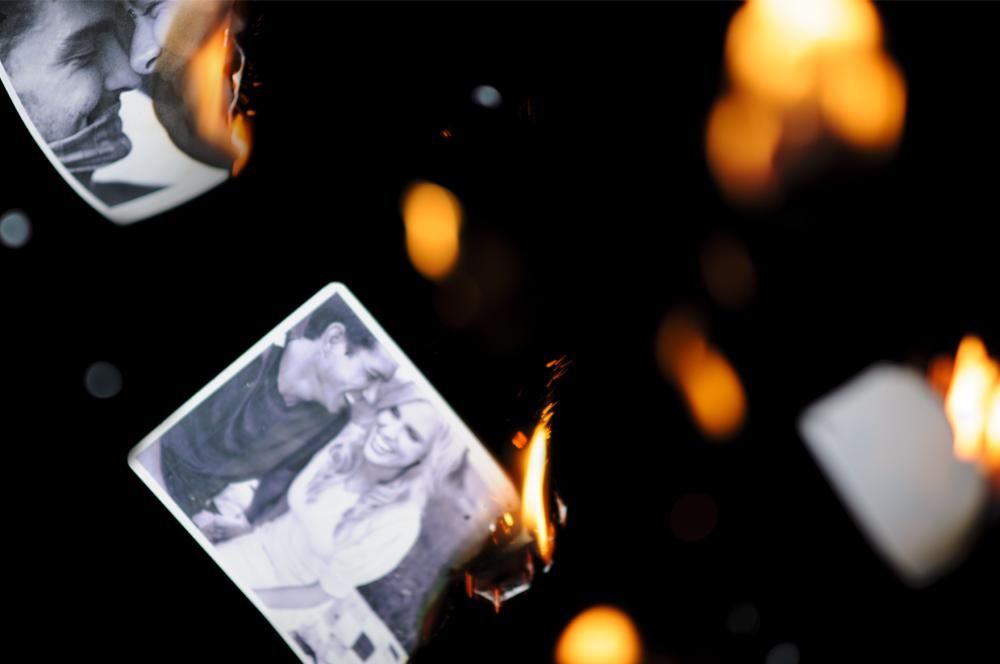 Burning memories