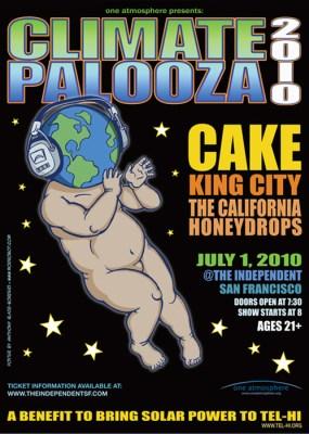 Climatepalooza 2010: featuring CAKE