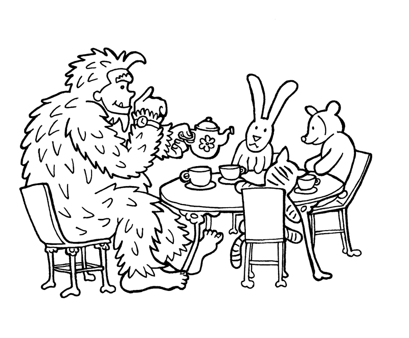 Tea Time for Sasquatch