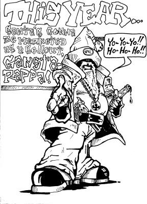 Gangsta Claus