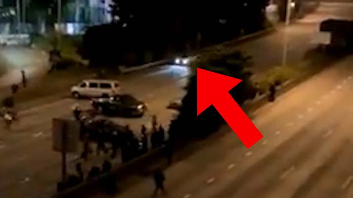 Seattle Protesters Get Hit By Car On The Interstate