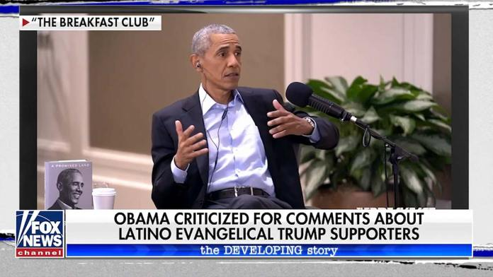 Barack Obama Attacks Christian Hispanic Trump Voters