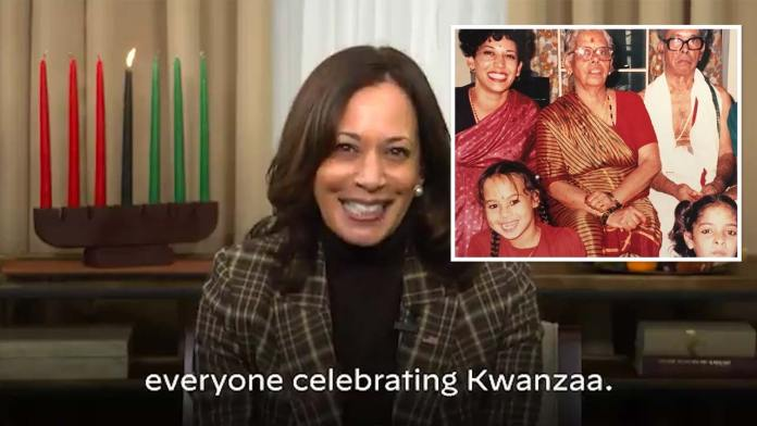 Kamala Harris Says She Celebrated Kwanzaa As A Child I Have Questions