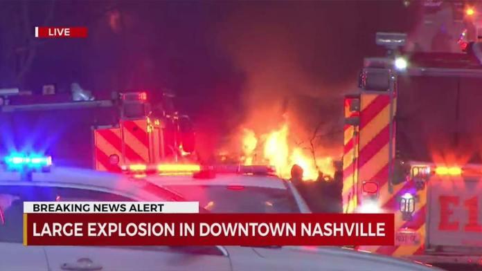 Nashville Christmas RV Bombing What Happened