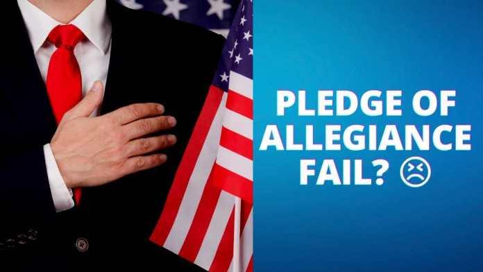 LA City Councilman Recites Pledge of Allegiance and It's Cringey