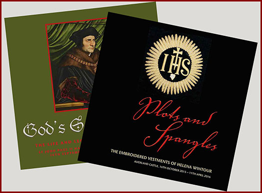 Catalogues recently produced for exhibitions in Bishops Auckland and Washington DC