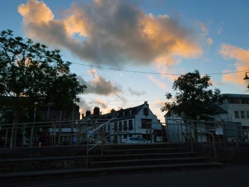 Biddeford rain clouds