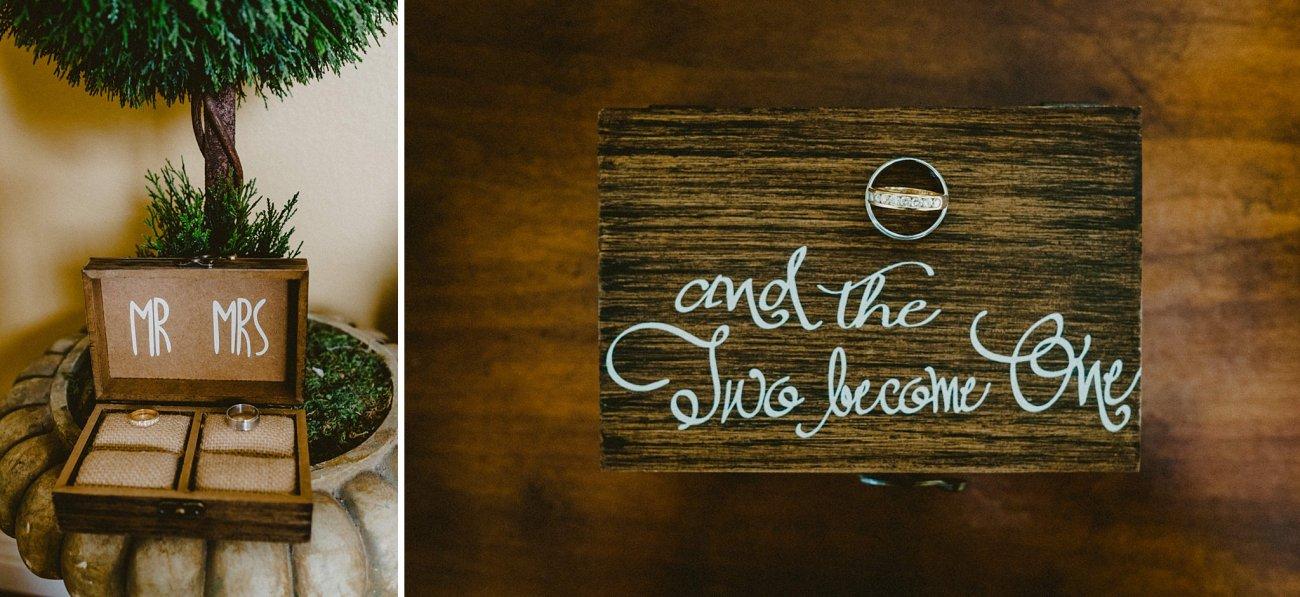 wedding ring box photo