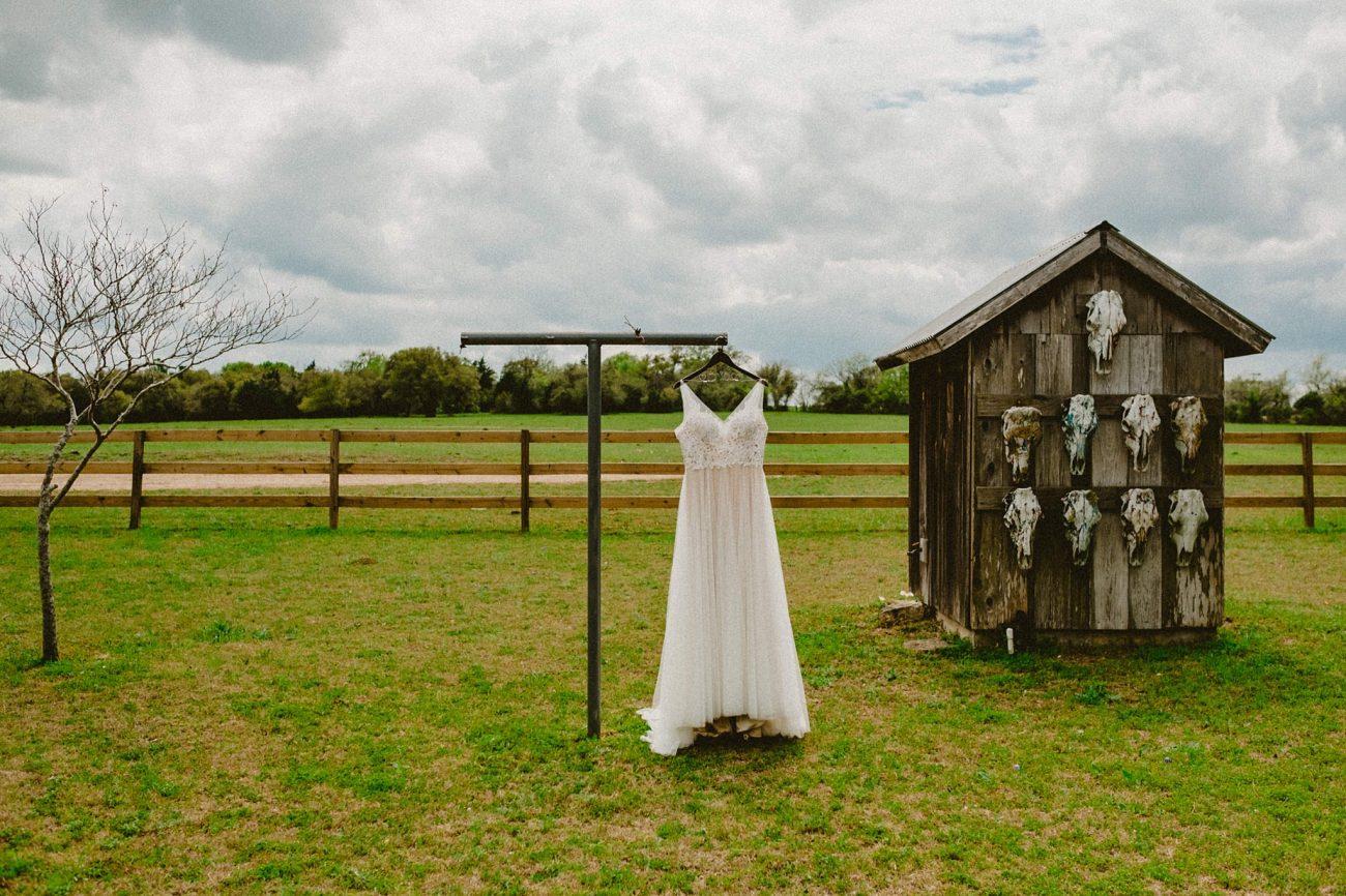 Texas Ranch Wedding dress