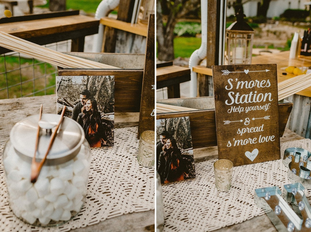 romantic texas wedding details