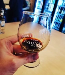 Goose Island Bourbon County Stout 2015 in a snifter glass