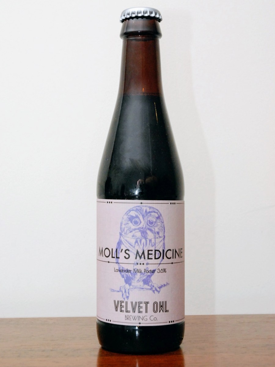 Velvet Owl Brewing Co, Moll's Medicine