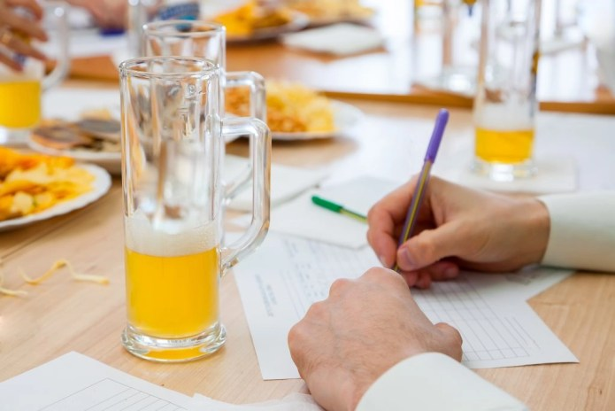 Beer sommelier education involves drinking beer and taking notes - among other things