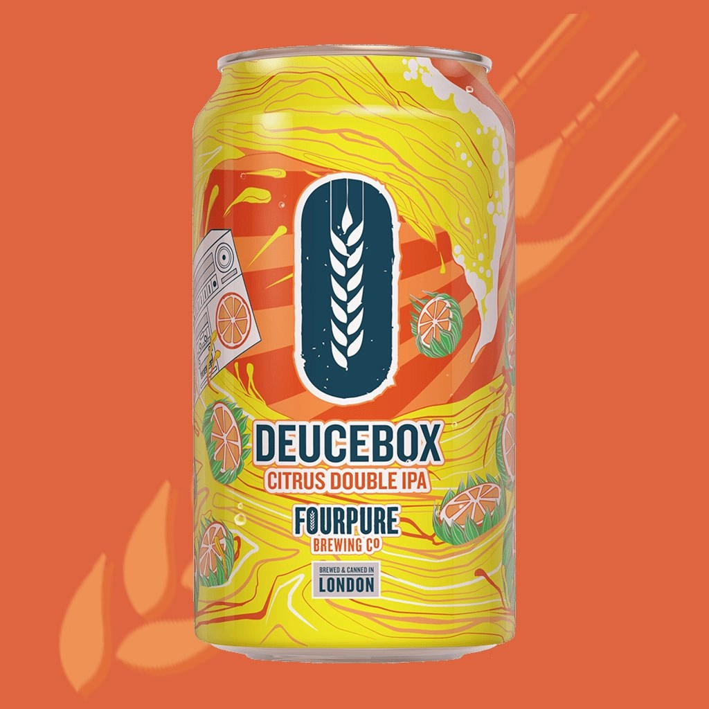 Fourpure Brewing Co, Deucebox Double IPA
