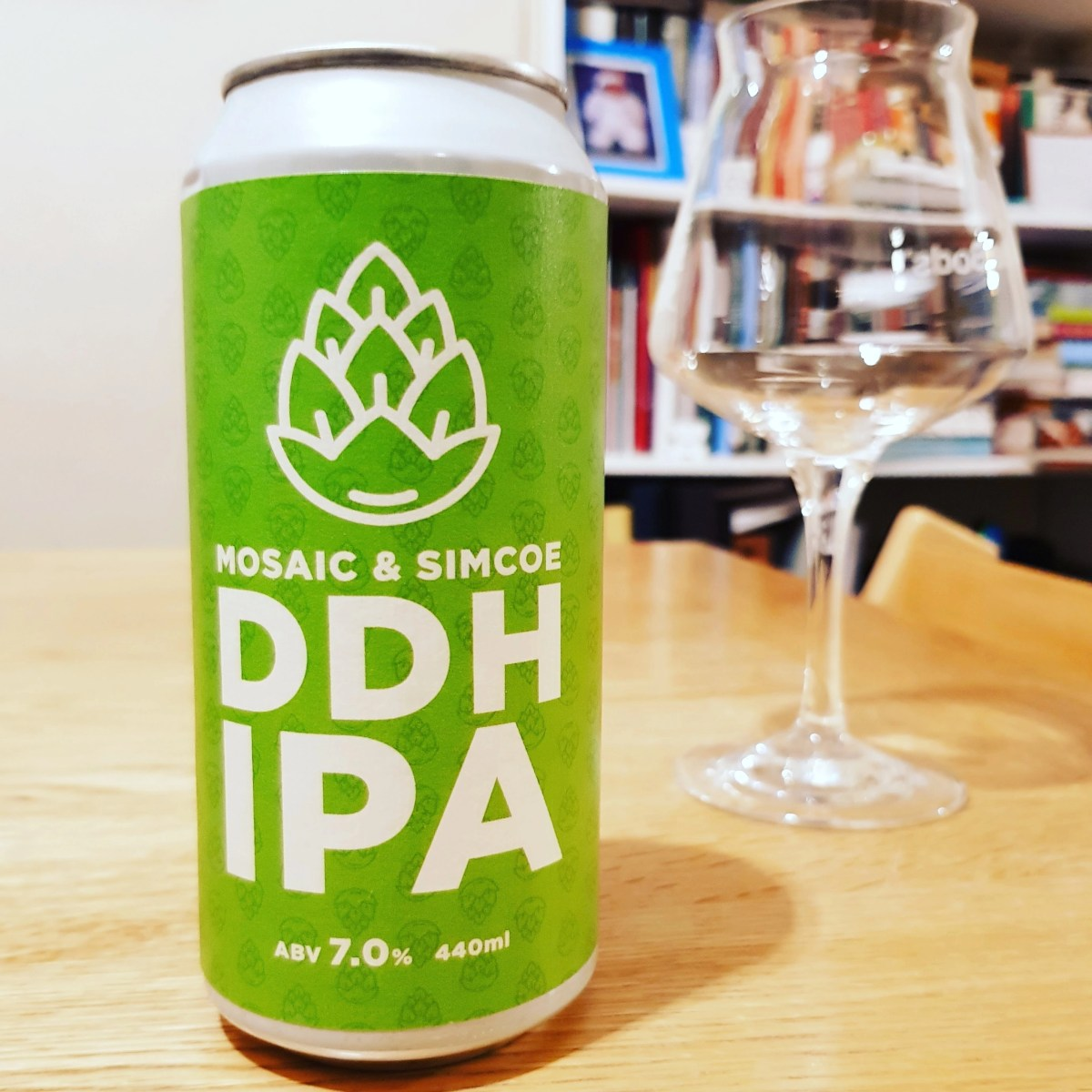 Hop Stuff, Mosaic and Simcoe DDH IPA