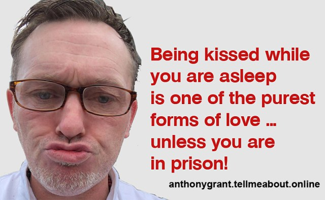 Anthony J Grant meme, prison: Anthony J Grant chef was arrested in Coleraine and bailed to his parent's home in Downpatrick.