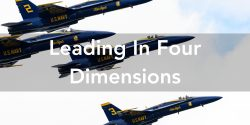 Leading In Four Dimensions