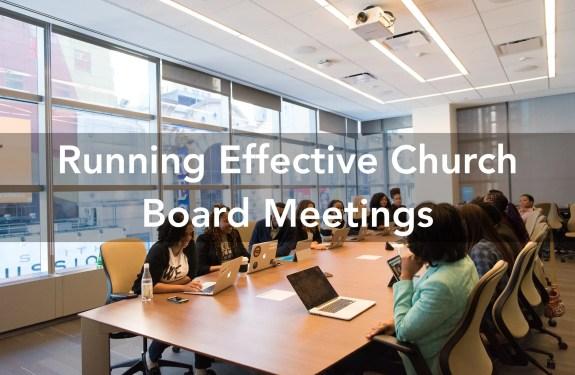 church board meetings