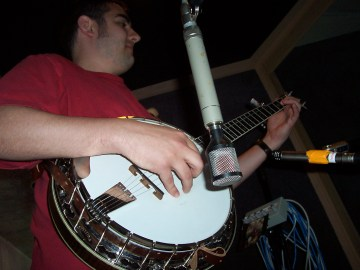Recording Dirty Old Rag, March 2004 at Pachyderm Studios