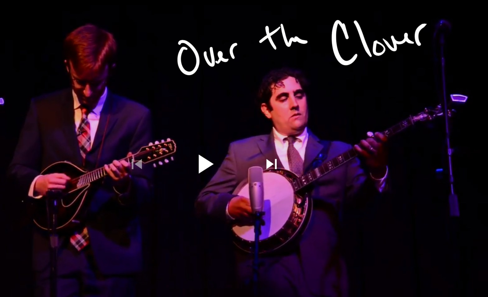 Over the Clover (banjo instrumental) with The High 48s live at The Cedar