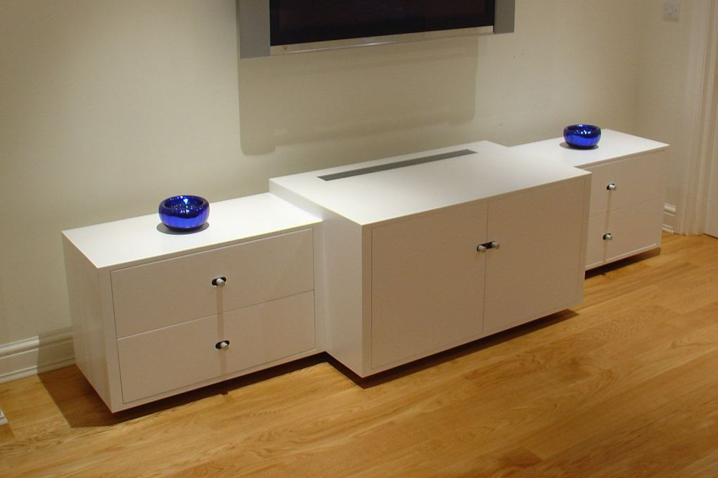 Custom Made Audio Visual Cabinet Bespoke Design-gallery
