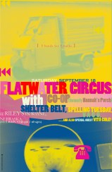 Shelter Belt - Concert Poster