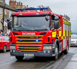 Tissington House Fire
