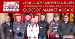 February 2019 Councillors Shoppers Surgery