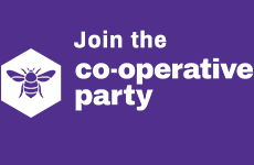 Join the Coop party logo