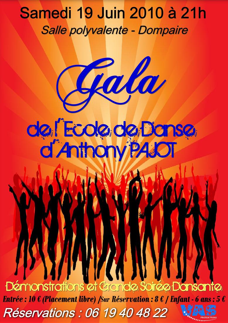 Gala de l'école de danse