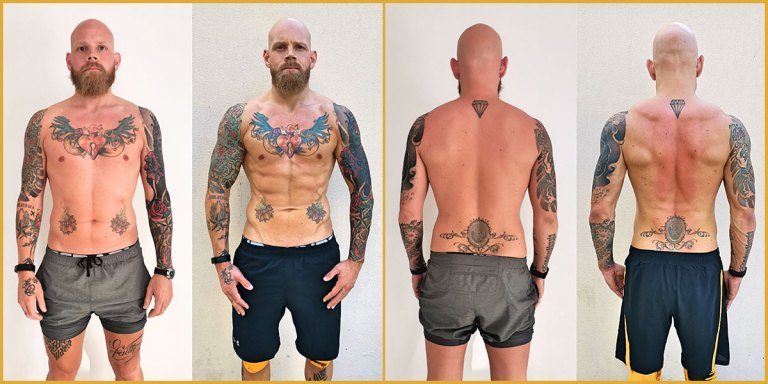 Lukas Body Transformation