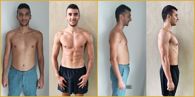 Mikael Body Transformation