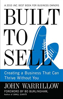 Book cover, built to sell