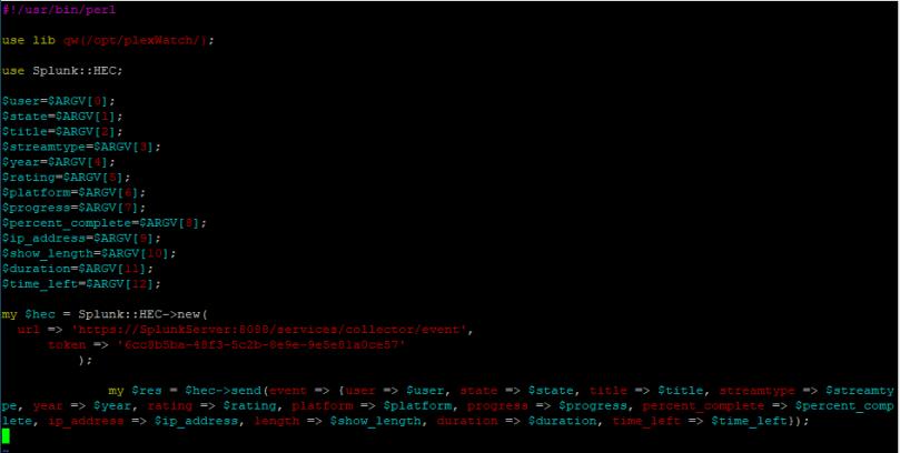 splunk.pl Perl script