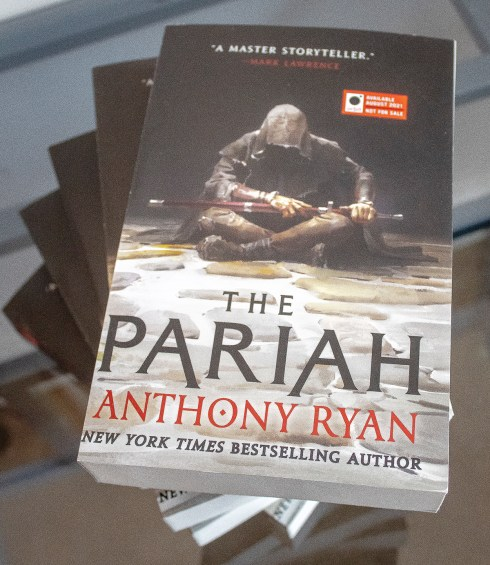 The Pariah – Upcoming Advance Review Copy Giveaway