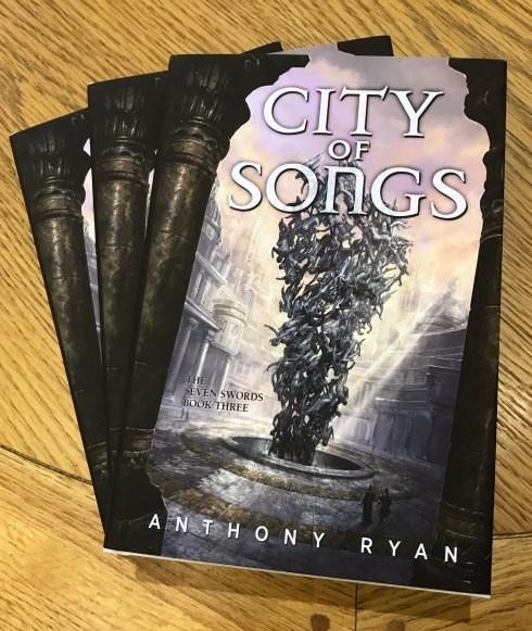 <div></noscript>City of Songs – Hardcover Giveaway & Black Song UK Audio Sale</div>