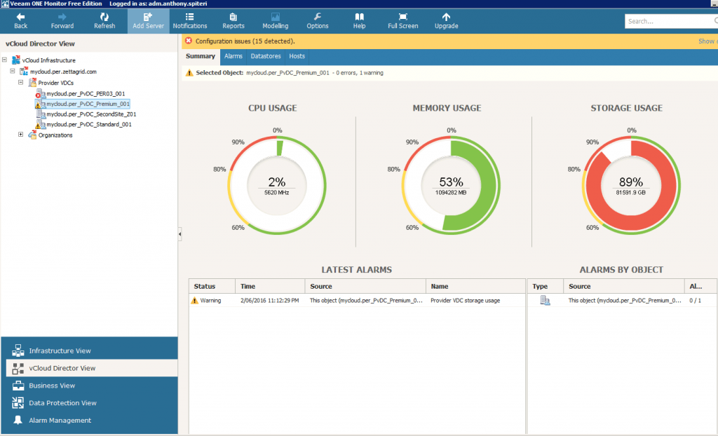 Veeam One: Free Edition Powerful And Worth A Look